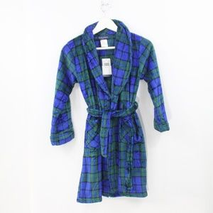 Cuddl Duds Kids Fleece Robe New Boys Chill Chasers
